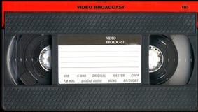 Cassette viejo del vhs Imágenes de archivo libres de regalías