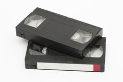 cassette on the white background Royalty Free Stock Photo