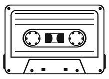 Cassetteband Stock Foto