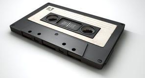 Cassetteband en Muzieknotenconcept vector illustratie