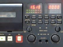 Cassettedeck Royalty-vrije Stock Afbeeldingen