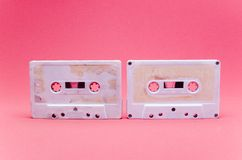 Cassettes Royalty Free Stock Photography