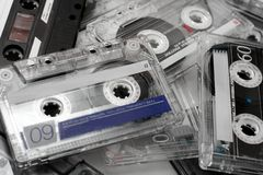 Cassettes Royalty Free Stock Photo