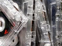Cassettes audios imagenes de archivo