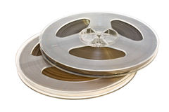 Cassettes audios viejos fotografía de archivo