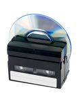 Cassettes and CD disc Royalty Free Stock Photos