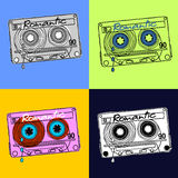 Cassettes Stock Photography