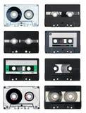 Cassettes compactos Imágenes de archivo libres de regalías