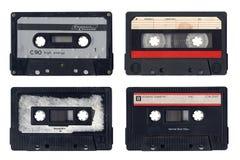 Cassettes compactos de la vendimia Imagen de archivo libre de regalías