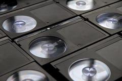 Cassettes de bande de magnétoscope de Betamax Photos libres de droits
