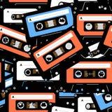 Cassettes del análogo de la vendimia Foto de archivo libre de regalías
