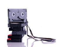 Cassettes llenados Imágenes de archivo libres de regalías