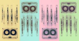 Cassettes sonores pour l'enregistreur Image stock