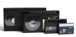 Cassettes vidéo Photographie stock libre de droits