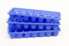 Cassetti del cubo di ghiaccio Fotografia Stock