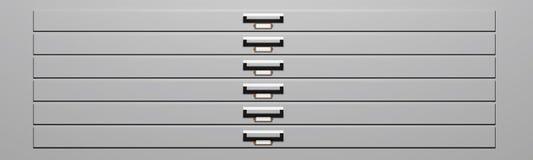 Cassetti dell'esemplare Immagine Stock Libera da Diritti
