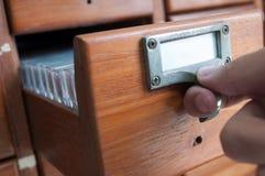 Cassetto Fotografie Stock Libere da Diritti