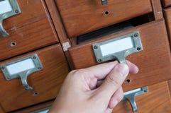 Cassetto Fotografia Stock