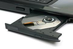 cassetto aperto del computer portatile Immagini Stock