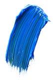 Cassetto blu della vernice fotografia stock