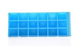 Cassetto del cubo di ghiaccio fotografie stock libere da diritti