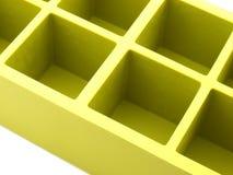 Cassetto del cubo di ghiaccio Immagini Stock Libere da Diritti