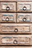 Cassetto del lavoro manuale Fotografia Stock