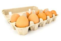 Cassetto delle uova Immagini Stock