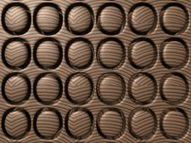Cassetto di cioccolato lussuoso illustrazione vettoriale
