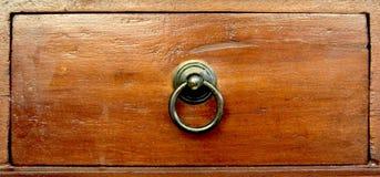 Cassetto di legno Fotografia Stock Libera da Diritti
