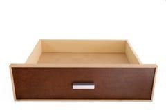 Cassetto di legno vuoto Fotografia Stock Libera da Diritti