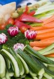 Cassetto di verdure Immagine Stock