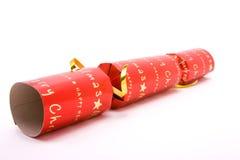 Casseur rouge de Noël Images libres de droits