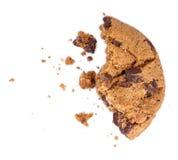 Cassez les biscuits avec des morceaux de chocolat Photo stock