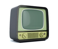 Cassic retro TV  Royalty Free Stock Photo