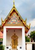 Cassical Tajlandzka architektura w Wata Pho jawnej świątyni w Bangkok, Tajlandia Fotografia Stock