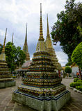 Cassical thai architecture wat pho public temple - Bangkok,Thailand 9 Royalty Free Stock Photos