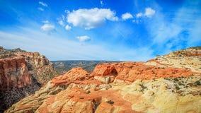 Cassidy Arch-Panorama stockfotografie
