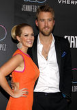 Cassie McConnell Kelley and Charles Kelley Stock Photos