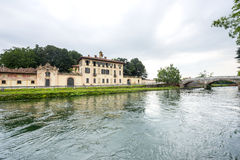 cassinetta di lugagnano米兰 免版税图库摄影