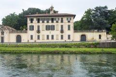 Cassinetta di Lugagnano (Mailand) Stockfoto