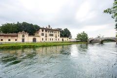 Cassinetta di Lugagnano (Milan) Photographie stock libre de droits