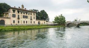 Cassinetta di Lugagnano (Milan) Royalty Free Stock Photo