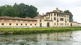 Cassinetta di Lugagnano (Milan) Stock Images