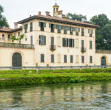 Cassinetta di Lugagnano (Milan) Royalty Free Stock Images