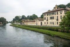 Cassinetta di Lugagnano (Milan) Stock Photo
