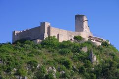 Cassino castle Royalty Free Stock Image