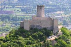 Cassino castle Stock Photo