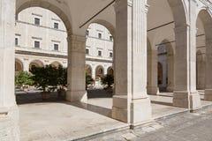Montecassino Abbey Italy Royalty Free Stock Image