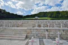 Cassino, ITALY, 01 JUNE: Polish War Cemetery in Cassino, Italy on June 01, 2016 Royalty Free Stock Photography